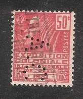 Perforé/perfin/lochung France No 272 A.C  Auffray Clair (manufacture De Corsets) - France