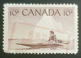 1955, National Wildlife Week, Canada, Used - 1952-.... Règne D'Elizabeth II
