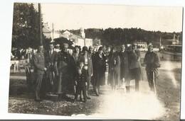 Old Original Photo Croatia - Dubrovnik - CAVTAT - 1930. - Lady Woman Femme Soldier Man Homme Guy - Plaatsen