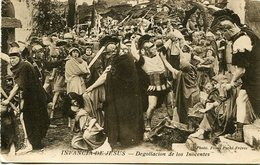 """INFANCIA DE JESUS, DEGOLLACION DE LOS INOCENTES"" PHOTO FILMS PATHE FRERES - POSTAL CARD CIRCA 1900's ART - LILHU - Peintures & Tableaux"