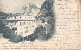 Grindelwald - Hôtel Du Glacier           1922 - BE Berne