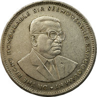 Monnaie, Mauritius, Rupee, 1991, TB+, Copper-nickel, KM:55 - Maurice