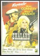 Carte Postale (cinéma Affiche Film) Shalako (Brigitte Bardot - Sean Connery) - Affiches Sur Carte