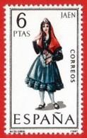 España. Spain. 1969. Jaen. Trajes Regionales Regional Costumes - 1961-70 Nuevos & Fijasellos