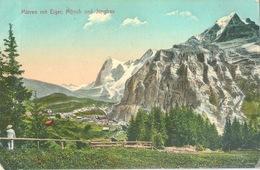 Mürren - Blick Gen Osten           Ca. 1910 - BE Berne