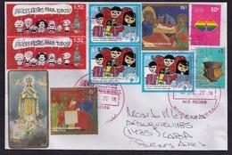 Argentine - 2018 - Lettre - Religion - Noël - Mafalda - Dessins Animés Pour Enfants - Christianisme - Lettres & Documents