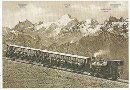Brienzer Rothorn Bahn -  Komposition Mit Lok 6  (Repro)       Ca. 2000 - BE Berne