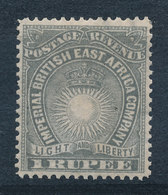 Britisch-Ostafrika / British East Africa Mi.-Nr. 17,1R Grau Sauber Ungebraucht * - Kenya (1963-...)