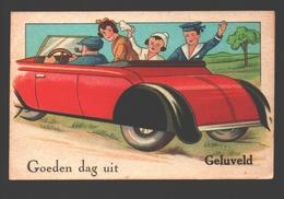 Geluveld - Goeden Dag Uit Geluveld - Illustratie - Auto / Voiture - 1955 - Zonnebeke