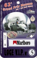 Grand Prix Monaco 2004  Pass Loge VIP - Automobile - F1