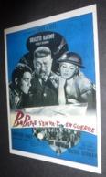 Carte Postale (cinéma Affiche Film) Babette S'en Va-t-en Guerre (Brigitte Bardot - Francis Blanche) - Affiches Sur Carte