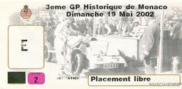 Grand Prix Historique Monaco 2002  Invité - Automobile - F1