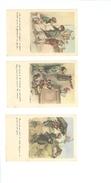 POULBOT - Lot De 3 Cartes - Ligue Nat. Contre Le Taudis... - Poulbot, F.