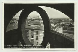PISA - PANORAMA DEI PRINCIPALI MONUMENTI - VISTO DALLA CHIESA DEI CAVALIERI DI S.STEFANO  VIAGGIATA  FP - Pisa