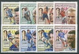 Mauretanien 2000 Fußball-WM In Japan U. Südkorea Spieler 1098/05 Postfrisch - Mauritanie (1960-...)