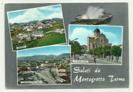 SALUTI DA MONTEGROTTO TERME - VEDUTE    VIAGGIATA  FG - Padova