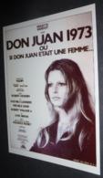 Carte Postale (cinéma Affiche Film) Don Juan 1973 (Brigitte Bardot) - Affiches Sur Carte