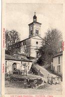 Châtenois Animée Belle Vue De L'Eglise - Chatenois