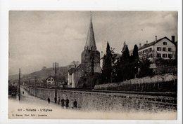 SUISSE - VILLETTE - L'Eglise - VD Vaud
