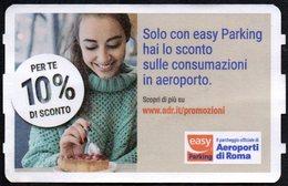 ITALIA ROMA FIUMICINO - AEROPORTI DI ROMA - TICKET PER IL PARCHEGGIO IN AEROPORTO - EASY PARKING - CAKE - Biglietti D'ingresso