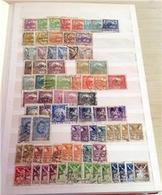 CECOSLOVACCHIA Bella Collezione Di Oltre 1200 Valori Usati Del Periodo 1925/1980 / Ottima Qualità, Montata Su Classifica - Usati