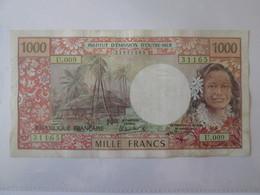 Polynesie Francaise/French Polynesia-Papeete(Tahiti) 1000 Francs 1985 Banknote - Papeete (Polynésie Française 1914-1985)