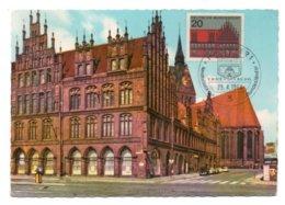 GF Carte Maximum 211, Allemagne Deutsche Bundespost 1964, Hannover Altes Rathaus - [7] Federal Republic