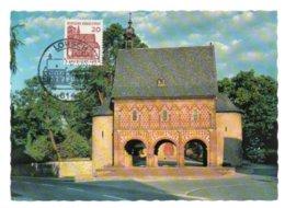 GF Carte Maximum 219, Allemagne Deutsche Bundespost 1965, Lorsch / Essen - [7] Repubblica Federale