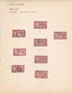 """AN 1900 No 121 TYPE """"LUC OLIVIER MERSON"""" UN FRANC LIE DE VIN ET OLIVE - BLEUP - France"""