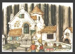 Kaatsheuvel - Illustratie Anton Pieck - Natuurpark De Efteling - Hans En Grietje - Nieuwstaat - Kaatsheuvel