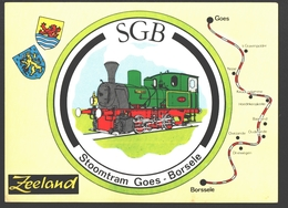 Goes / Borsele - Stoomtram Goes - Borsele - Museum Stoomtram Door Zuid-Beveland - Tram / Tramway - Train / Zug - Goes