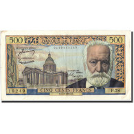 France, 500 Francs, Victor Hugo, 1955, 1955-08-04, TTB, Fayette:35.5, KM:133b - 1871-1952 Circulated During XXth