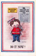R187025 Do It Now. Inter Art. Patriotic Series IV. No. 815 - Cartes Postales