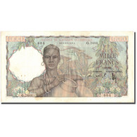 Billet, French West Africa, 1000 Francs, 1951, 1951-10-02, KM:42, TTB - West African States
