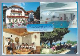 DE.- GRAINET / BAYER / WALD. Ferienhotel Hüttenhof. Familie Paster. Ongelopen. - Hotel's & Restaurants