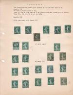 "AN 1906-20 No 137 ""LA SEMEUSE DE ROTY""-CINQ CENTIMES VERT FONCE - BLEUP - France"