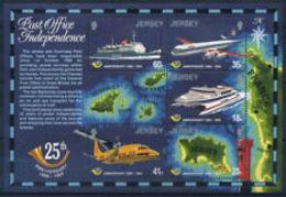 91699) JERSEY 1994 AMMINISTRAZIONE POSTALE 25th ANNIVERSARIO-BF N. 9-MNH** - Jersey