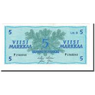 Billet, Finlande, 5 Markkaa, 1963, KM:106Aa, NEUF - Finland