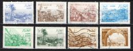 ALGERIA - 1984 - VEDUTE DELL'ALGERIA - USATI - Algérie (1962-...)