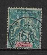 Senegal - Yvert 11 Oblitéré GOREE - Scott#38 - Senegal (1887-1944)