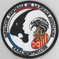 Écusson Police DCPJ - SRPJ Montpellier (34) - Police & Gendarmerie