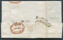 1826 GB Richard Harris & Sons Wheat Prices Current Document TP Lombard Street, '8 MORN 8' London - ...-1840 Prephilately