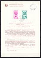 Europa CEPT 1964 Italie - Italy - Italien Livret Y&T N°907 à 908 - Michel N°1164 à 1165 (o) - 1964