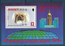 91701) JERSEY 1994 Hong Kong 94 International Stamp Exhibition-BF N. 8-MNH** - Jersey
