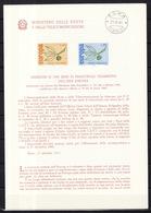 Europa CEPT 1965 Italie - Italy - Italien Livret Y&T N°928 à 929 - Michel N°1186 à 1187 (o) - Europa-CEPT