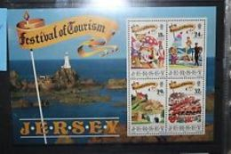 "91702) FRANCOBOLLI STAMPS JERSEY 1990 ""FESTIVAL OF TOURISM""-BF N. 5-MNH** - Jersey"