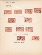 """AN 1920 No 145 TYPE """"L.O. MERSEN""""-DEUX FRANCS ORANGE - BLEUP - Francia"""