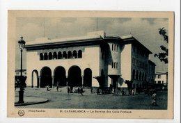 MAROC - CASABLANCA - Le Service Des Colis Postaux - Casablanca