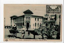 MAROC - CASABLANCA - La Banque D'Etat Du Maroc - Casablanca