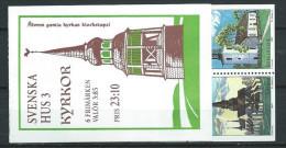Suède 1997 Carnet C1958 Neuf Maisons Suèdoises - Carnets